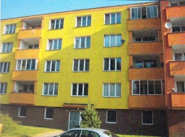 Byt 2+1 (61 m2), včetně spoluvlastnického podílu, k.ú. a obec Žlutice, okres Karlovy Vary